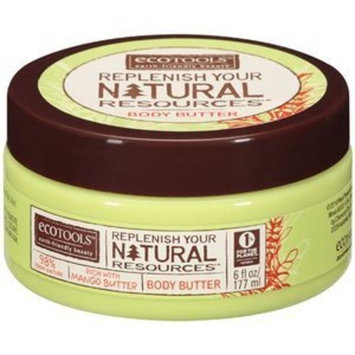 EcoTools Body Butter, Replenish Your Natural Resources, 6 oz.