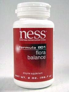 Ness Enzyme's Flora Balance #801 powder 2 oz