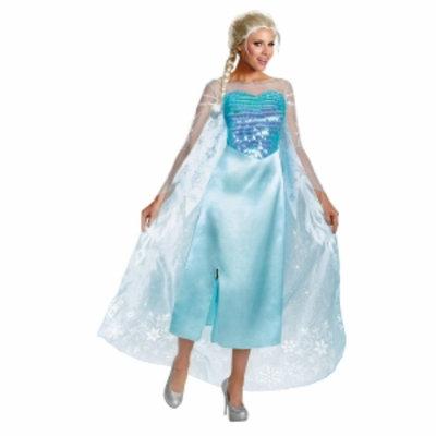 Frozen Elsa Deluxe Costume Plus
