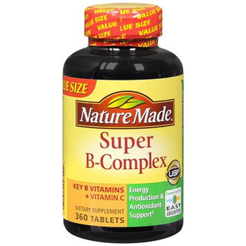 Nature Made Super B-Complex Dietary Supplement Tablets
