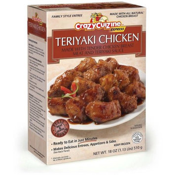 Day-lee Foods, Inc Crazy Cuizine Teriyaki Chicken