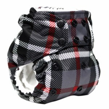 Kanga Care Rumparooz One Size Cloth Pocket Diaper, Plaid Snap, 1 ea