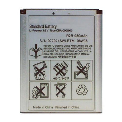 Battery for Sony Ericsson BST-33 Replacement Battery