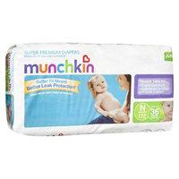 Munchkin Super Premium Diapers Jumbo Pack - Size Newborn (36 Count)