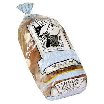 Vermont Bread Company Sodium Free Whole Wheat Bread 20 Oz All Natural Bread 3 Packs