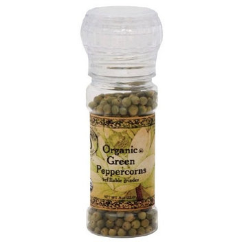 Himala Salt HimalaSalt Organic Rare Green Pepper, 0.8-Ounce Grinders (Pack of 3)
