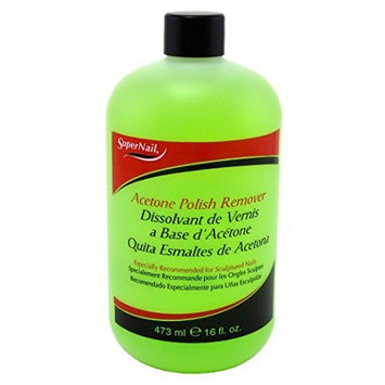 Super Nail 16oz. Acetone Nail Polish Remover