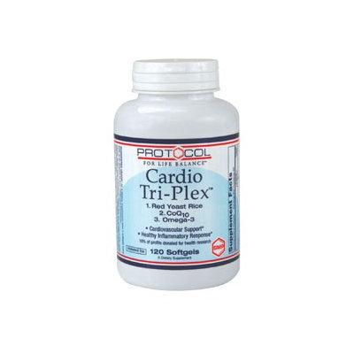 Cardio Triplex 120 gels by Protocol For Life Balance
