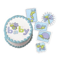 Luck's Lucks Edible Image Snuggle Bug Embellishments, 72-Pack