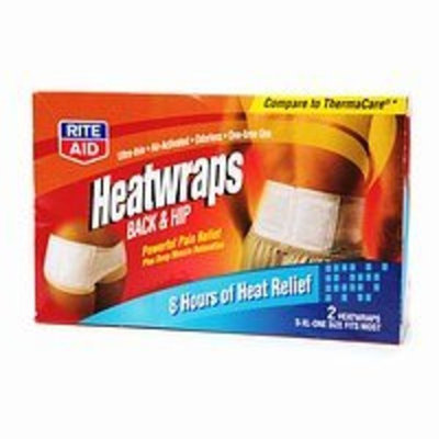 Rite Aid HeatWraps, Back & Hip 2 ea