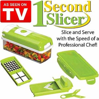 As Seen On TV - 1 Second Slicer - Cut Dices, Sticks & Slices