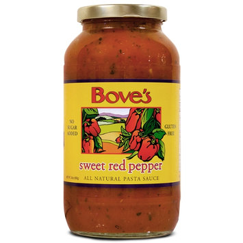 Bove's Sweet Red Pepper Pasta Sauce