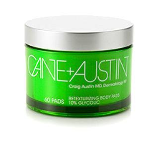 Cane + Austin Retexturizing Cream 10% Glycolic body pads