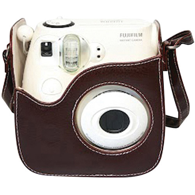 Fujifilm FUJIFILM 600011722 Instax Mini8 Brown Leather Case FDC600011722