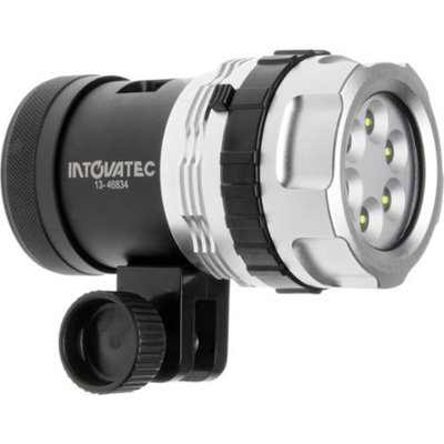 Intova Galaxy 2500 Lumens Underwater Video Light with Case Waterproof to 400 feet