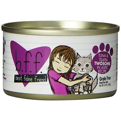 Weruva Best Feline Friend Canned Cat Food, Tuna and Tilapia Twosome Recipe