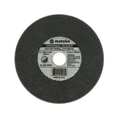 Metabo ORIGINAL SLICER Cutting Wheels - 6inx1/16inx7/8in a36tz t27 cutting wheels (Set of 10)