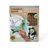 Endangered Species by Sud Smart Bath Coloring Scenes