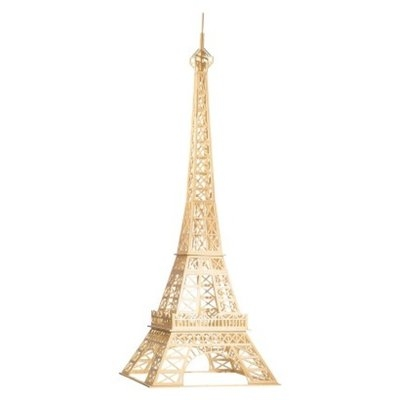Matchitecture Eiffel Tower Puzzle