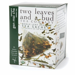 Two Leaves and a Bud Tea Company Organic Green Tea