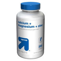 up & up up&up Calcium, Magnesium and Zinc Tablets - 250 Count