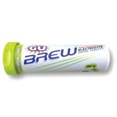 G.U. GU Energy Labs Brew Electrolyte Energy Drink Tablets, Lemon Lime, 73 Gram