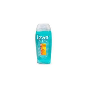 Lever 2000 Energize Vitamins A, B5, E and Ginseng Body Wash 12 oz (Pack of 6)
