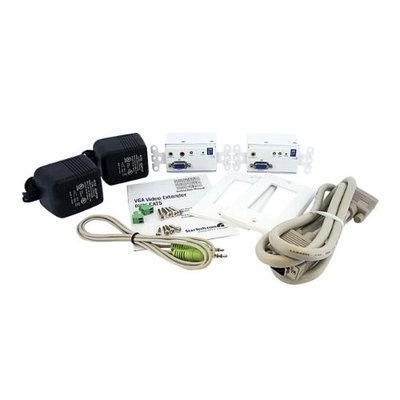 StarTech VGA Wall Plate Video Extender over Cat5 with Audio STUTPWALLA