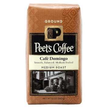 Peet's Coffee Cafe Domingo Medium Roast Ground Coffee 12 oz