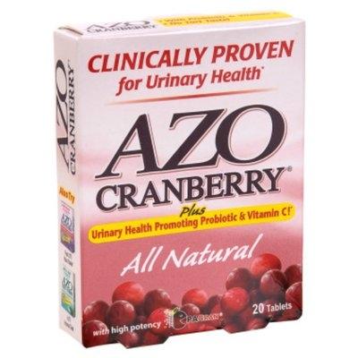 Azo AZO Cranberry Urinary Health Tablets - 20 ct