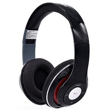 HD Wireless Headphones With Built-in Microphone by Soundlogic