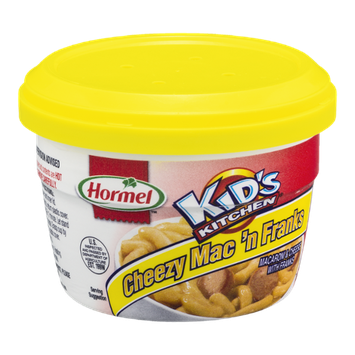 Hormel Kid's Kitchen Cheezy Mac 'n Franks