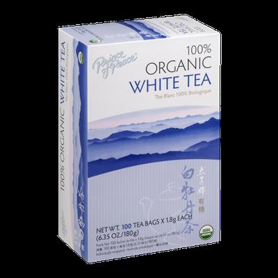 Prince of Peace 100% Organic White Tea - 100 CT