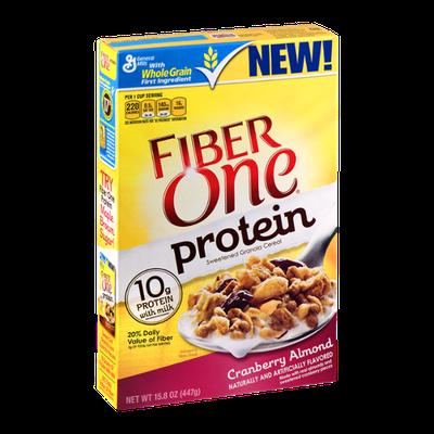 Fiber One Protein Cranberry Almond Granola