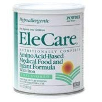 Ross Products Abbott Laboratories Elecare Amino Acid-Based Medical Food and Infant Fomula with Iron, Unflavored, 14.1-Ounce Canister