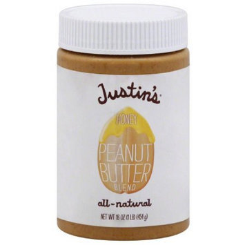 Justin's Peanut Butter Blend, Honey, 16 Ounce (Pack of 2)