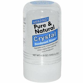 Thai Deodorant Stone Pure And Natural Crystal Deodorant Stone 4.25 oz
