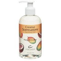Cnd Cosmetics CND Scentations Hand & Body Wash Mango & Coconut 8.3 oz.