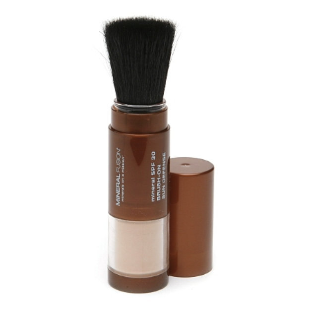 Slide: Mineral Fusion Mineral SPF30 Brush-On Sun Defense for All Skin Types