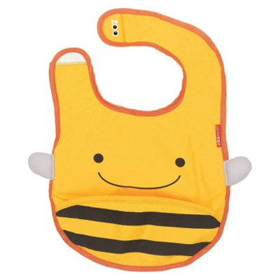 Skip Hop Zoo Tuck-Away Bib Bee by