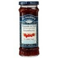 St Dalfour St. Dalfour Organic Strawberry Sauce 10.6 Oz (300 G) (Pack of 6)