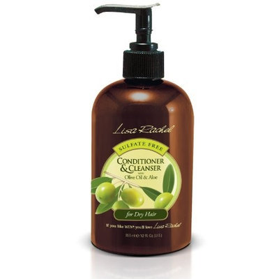 Lisa Rachel Conditioner & Cleanser with Olive Oil & Aloe for Dry Hair 12oz