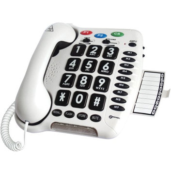 Sonic Alert Amplified Multifunction Hearing-Aid Compatible Telephone with Large Buttons