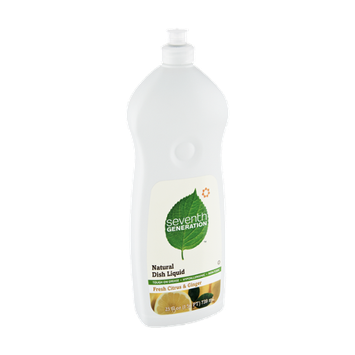 Seventh Generation Fresh Citrus Ginger Natural Dish Liquid