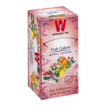 Wissotzky Tea Bags Magic Garden Fruit Galore - 20 CT