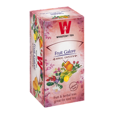 Wissotzky Tea Bags Magic Garden Fruit Galore - 20 CT