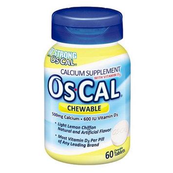Os Cal Calcium 500mg with Vitamin D3 600 IU