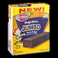 Keebler Fudge Sticks Jumbo Dark Fudge Cookies
