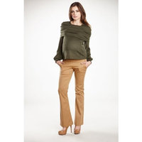 Maternal America : Bell Bottom Pants - Camel