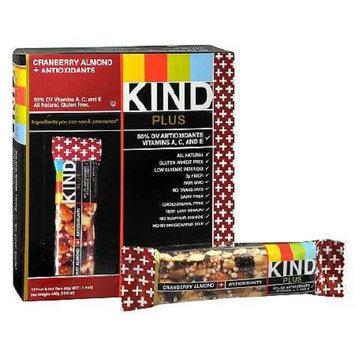 KIND Plus Nutrition Plus Nutrition Bars Cranberry & Almond + Anitoxidants